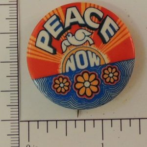 Beautiful Peace Now special interest button