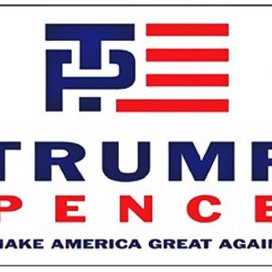Donald Trump and Mike Pence for President in 2016 Bumper Sticker