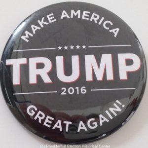 Trump Make America Great Again 2016. Black