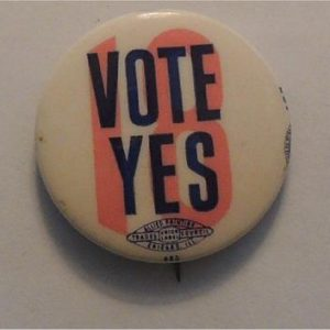 Vote Yes 18 (from Michigan referendum in 1966)