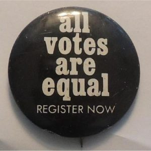 All votes are equal