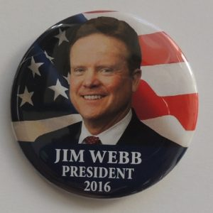 Jim Webb President 2016 red
