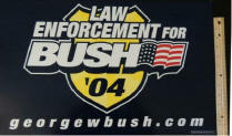 2004 Law Enforcement for Bush 04 georgewbush.com