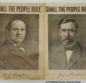 Shall the people Rule W. J. Bryan and John W. Kern Campaign Poster