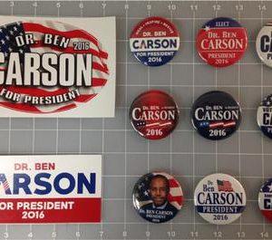 Dr. Ben Carson 11 Campaign Set
