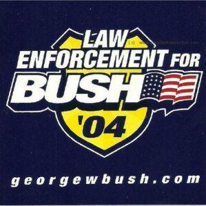 Law Enforcement for Bush 04 georgewbush.com