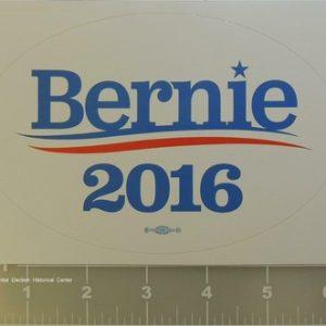 Bernie Sanders 2016 6.5 inch bumper sticker