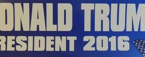 Donald Trump President Sticker