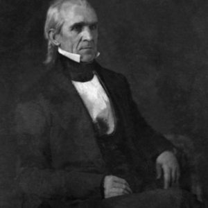 11th US President James K. Polk Glossy Photo Political Print Poster