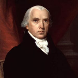 4th US President James Madison Glossy Photo Political Print Poster