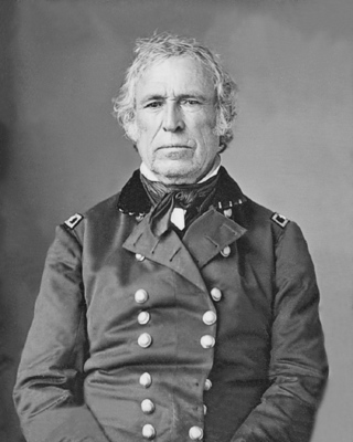 12th US President Zachary Taylor Glossy Photo Political Print Poster