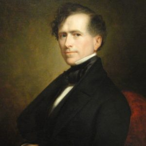 14th US President Franklin Pierce Glossy