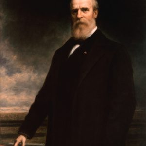 19th US President Rutherford B. Hayes Glossy Heavy Stock Photo Political Print Poster