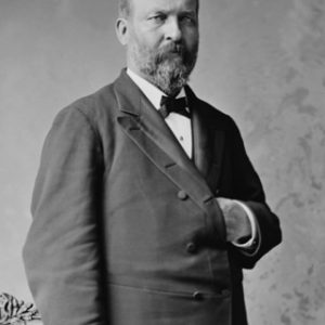 20th US President James A. Garfield Glossy Heavy Stock Photo Political Print Poster