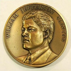 1993 Bill Clinton 42nd President of the United States Official Inaugural Medalá