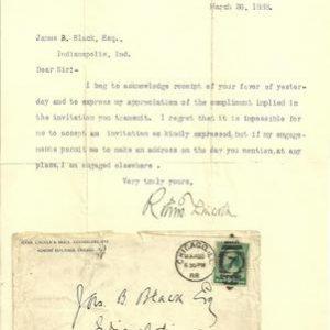 Robert Lincoln 1888 Authentic Signature