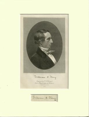 Vice President William R. King - Engraved by W. H. Dougal