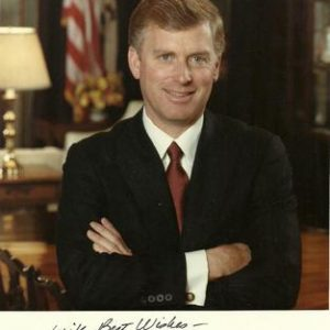 1990 Vice President Dan Quayle Authentic Signature