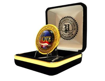 2016 Limited Edition Registered Voter Lapel Pin