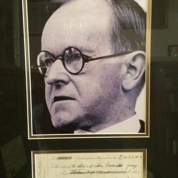 November 20th 1913 Calvin Coolidge framed photo and authentic signature