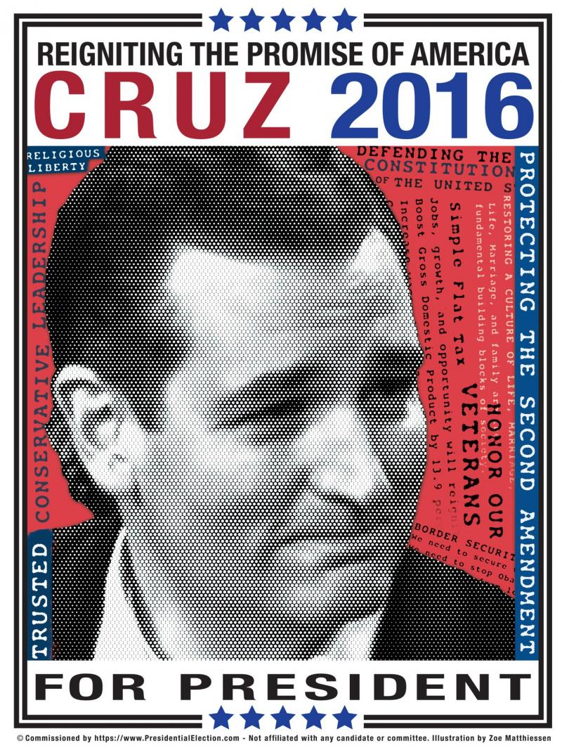 ted cruz campaign posters 2016 presidentialelection com