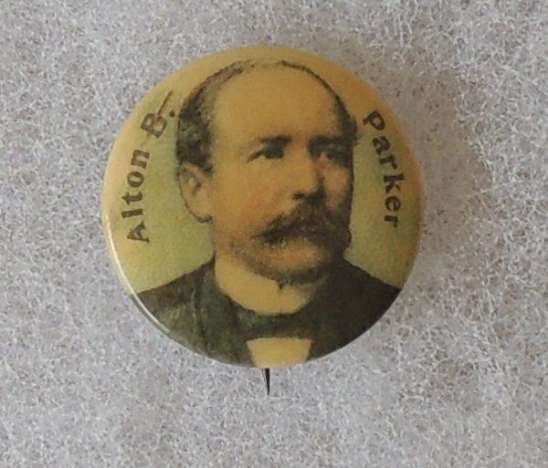 Alton B Parker Campaign Button