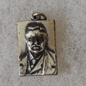 Very nice Theodore Roosevelt rectangular necklace
