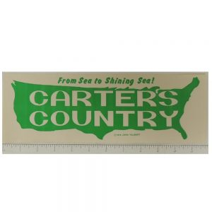 From Sea to Shining Sea! Carter's Country Bumper Sticker