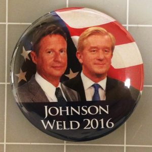 Johnson Weld 2016 Face View Campaign Button