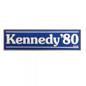 Very nice blue Kennedy 80 bumper sticker