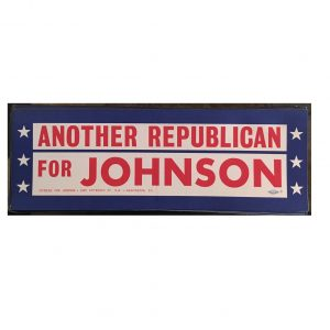 Another Republican for Johnson Bumper Sticker