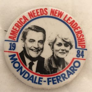 America Needs New Leadership Mondale Geraldine 1984