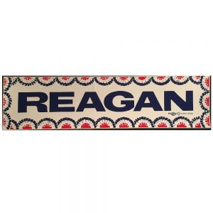 Beautiful and colorful Reagan bumper sticker