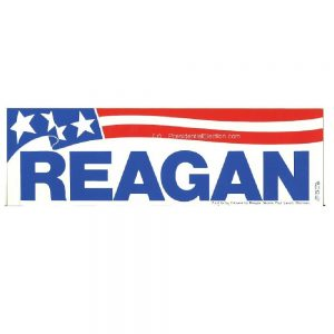 Original Reagan Bumper Sticker