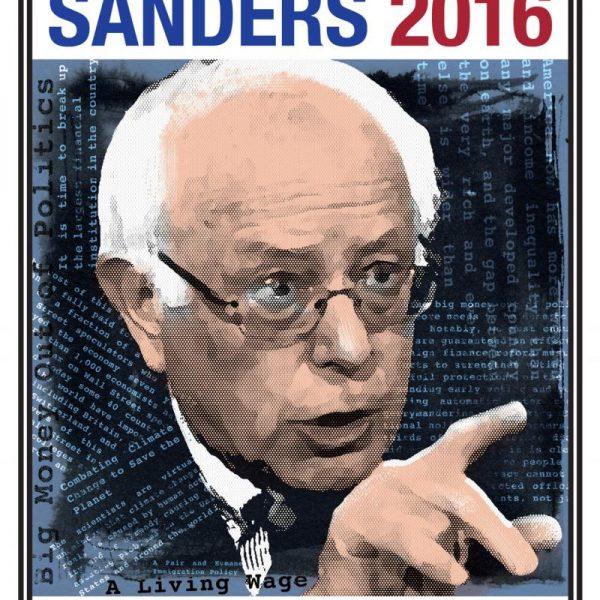 Bernie Sanders Campaign Poster (2016)