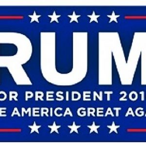 Trump For President 2016 Make America Great again! (Larger size)