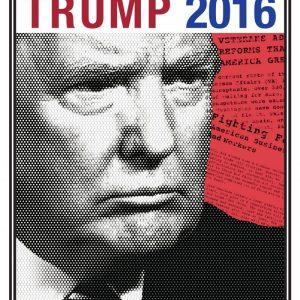 Donald Trump Campaign Poster (2016)