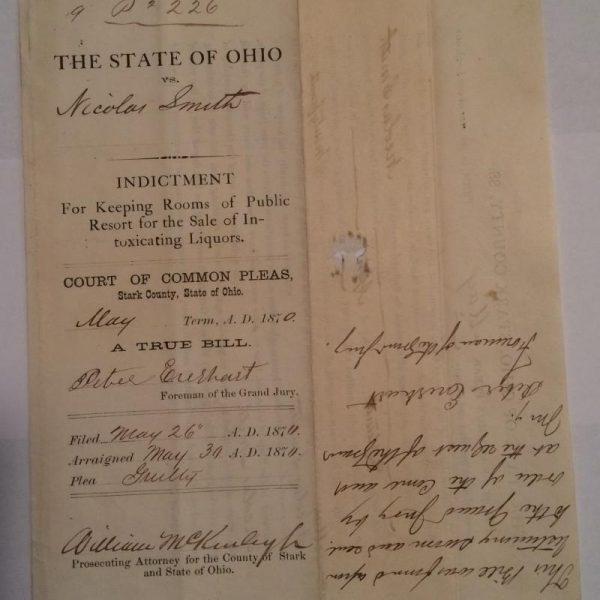 William McKinley Indictment May 26