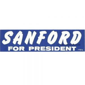 1972 Sanford Bumper Sticker