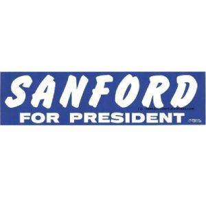 1972 Sanford Bumper Sticker