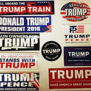 Donald Trump Complete Set of 10 Best Seller Bumper Stickers