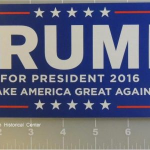 Trump For President Sticker (Larger size)