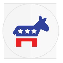 2016 Democrat Stickers