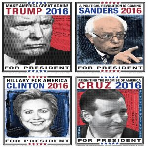 2016 Campaign Posters