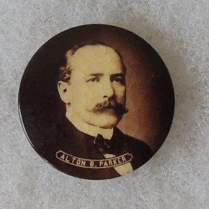 Alton B Parker Button