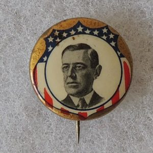 Classic Wilson face photo Campaign Button