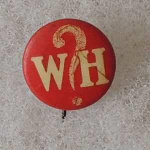 Woodrow Wilson red WH button