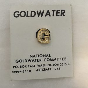 Goldwater lapel Pin