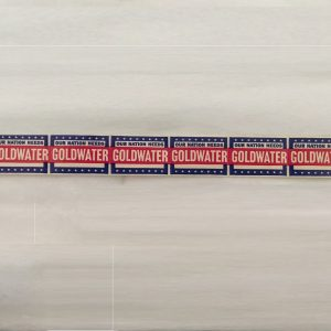 Our nation needs Goldwater stickers