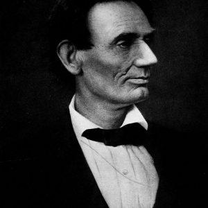Abraham Lincoln 8 x 10 print taken by Alexander Hessler